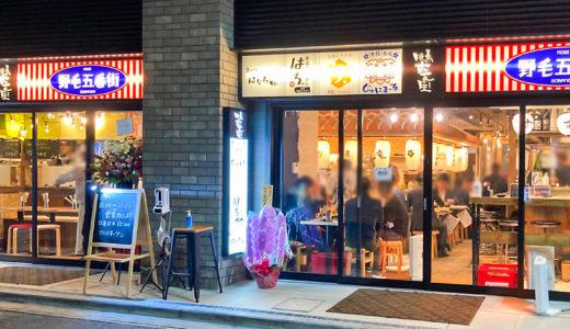 【野毛五番街】沖縄料理・ビストロ・串揚げ・焼鳥・鮮魚が集う呑んべえ横丁!